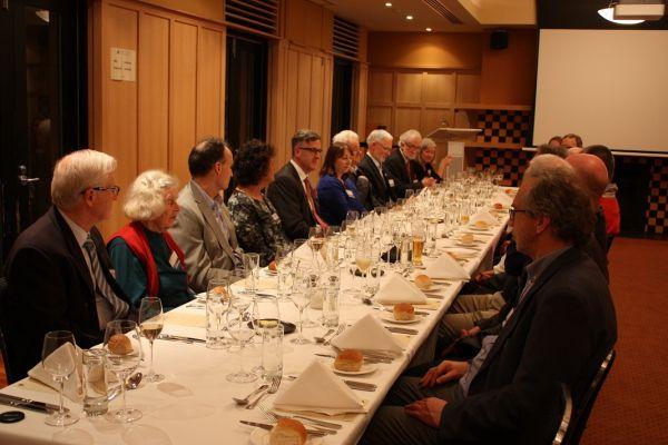 Guests at 1970s alumni reunion