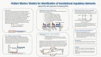 "Jiayuan Zhu: ""Hidden Markov Models for identification of translational regulatory elements"""