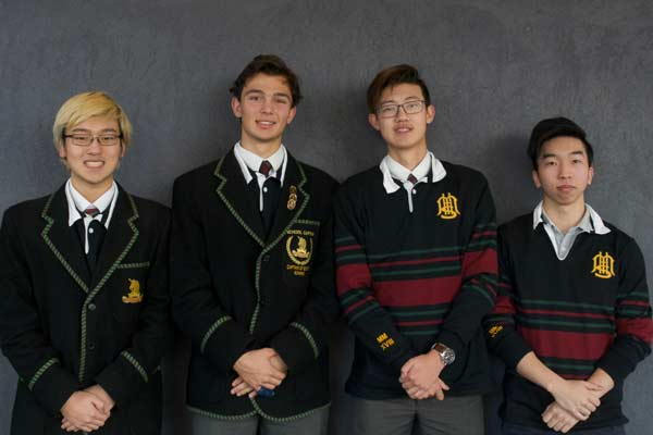 Melbourne High School students were awarded first place in the MIT Challenge