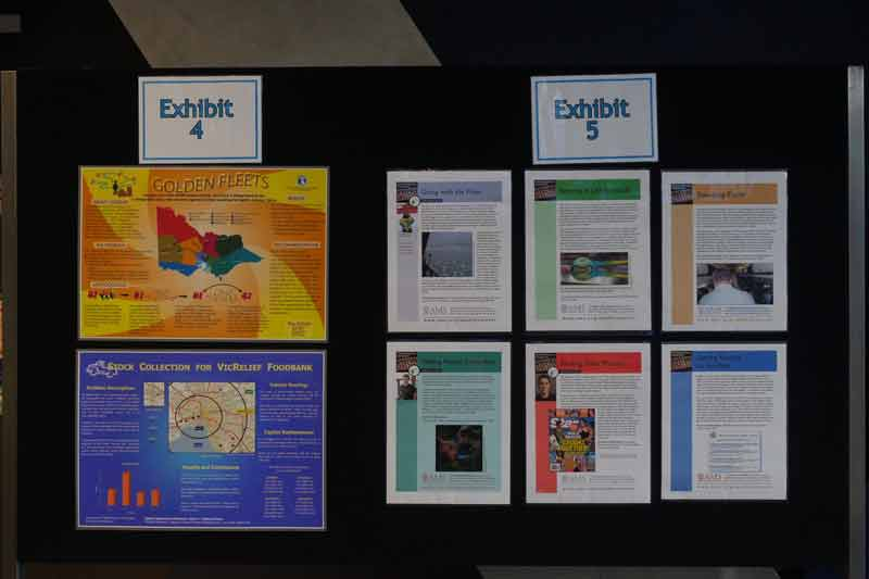 Posters in the Mathematics Exposed session