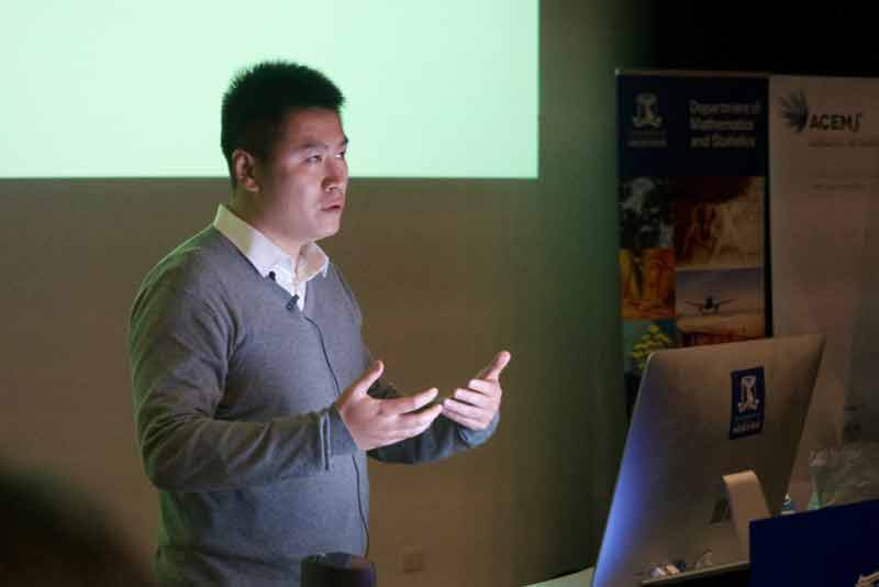 Zuhe Zhang completed his PhD in mathematics at the University of Melbourne.